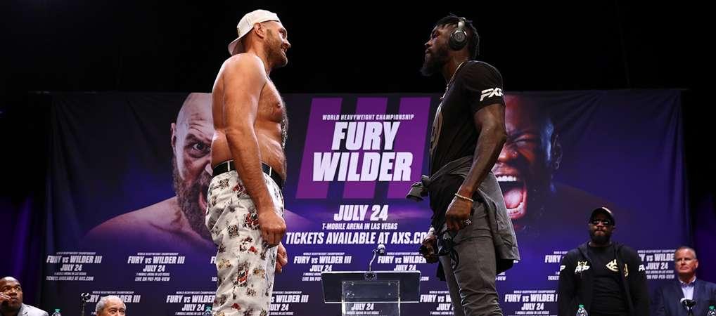 Tyson Fury vs. Deontay Wilder