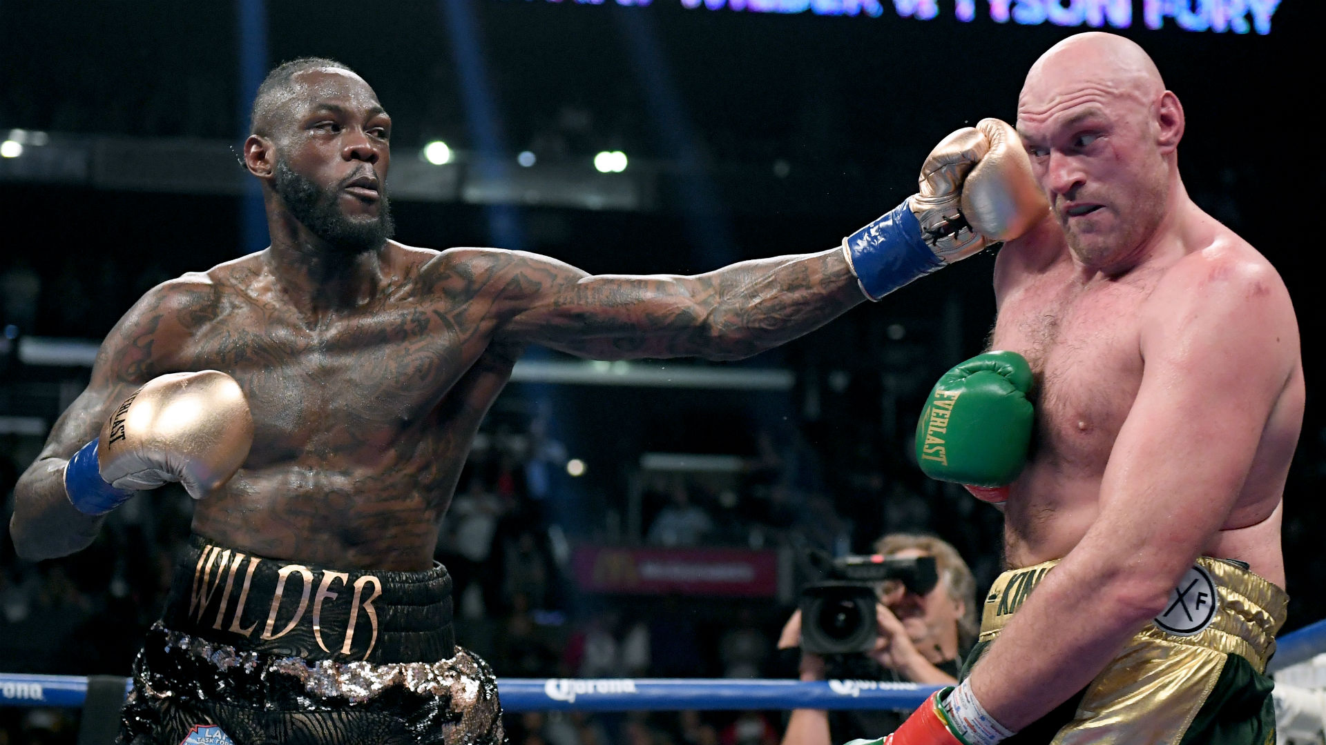 Deontay Wilder thought he was ...
