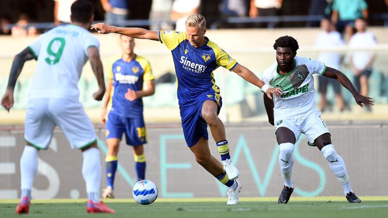 Highlights Hellas Verona-Sassuolo del 21-08-2021, Serie A TIM 2021-2022