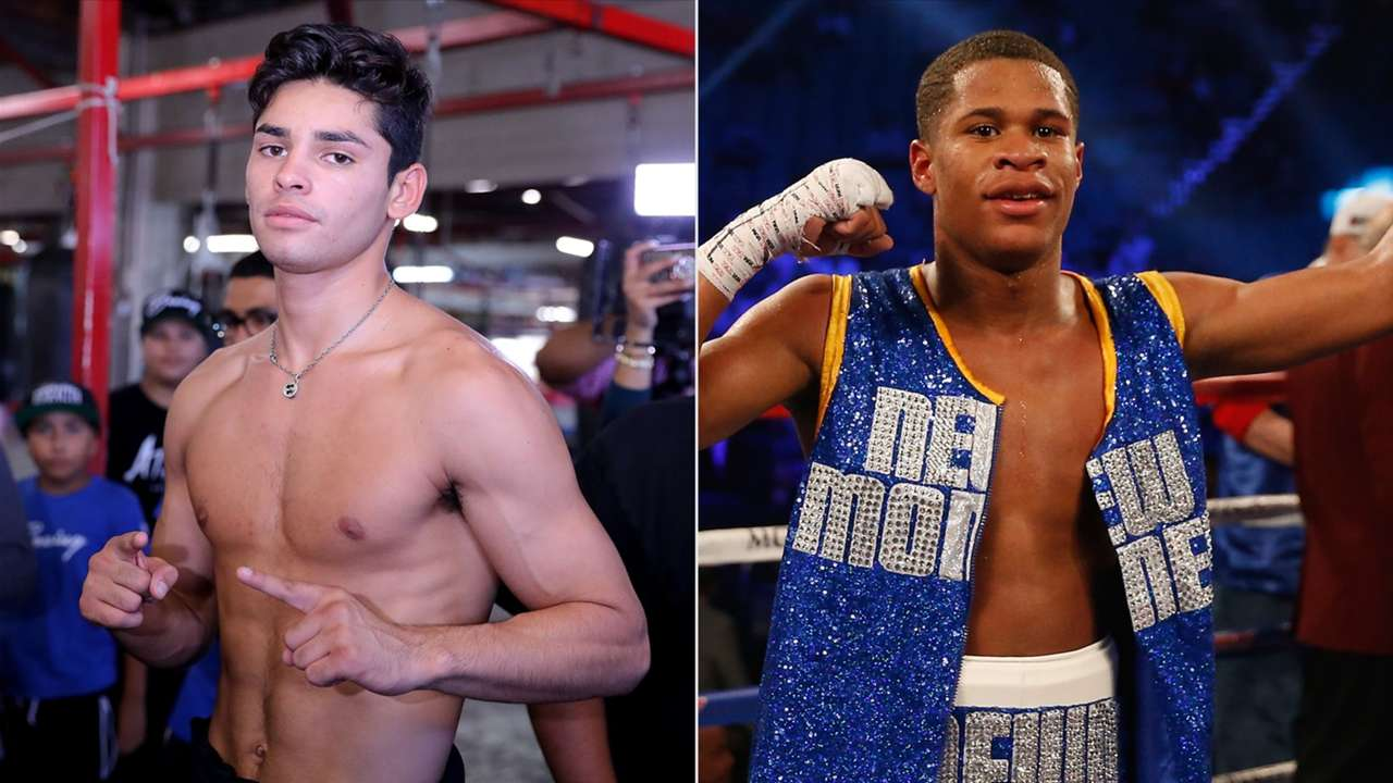 Devin Haney Confronts Ryan Garcia In Ring Both Game To Fight Each Other In 2020 Dazn News Us