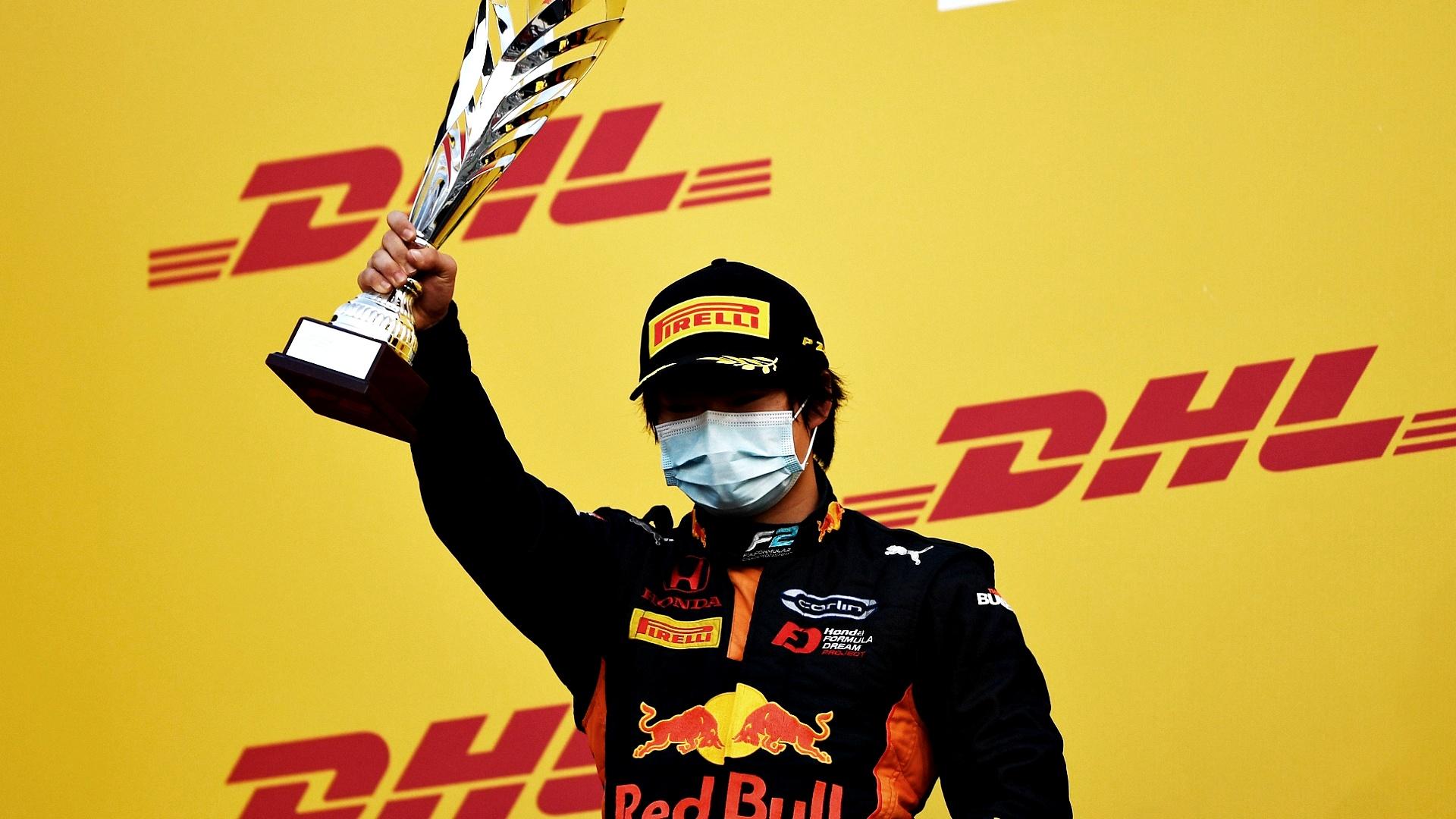 2020-12-06 Tsunoda Yuki F2 Formula 2