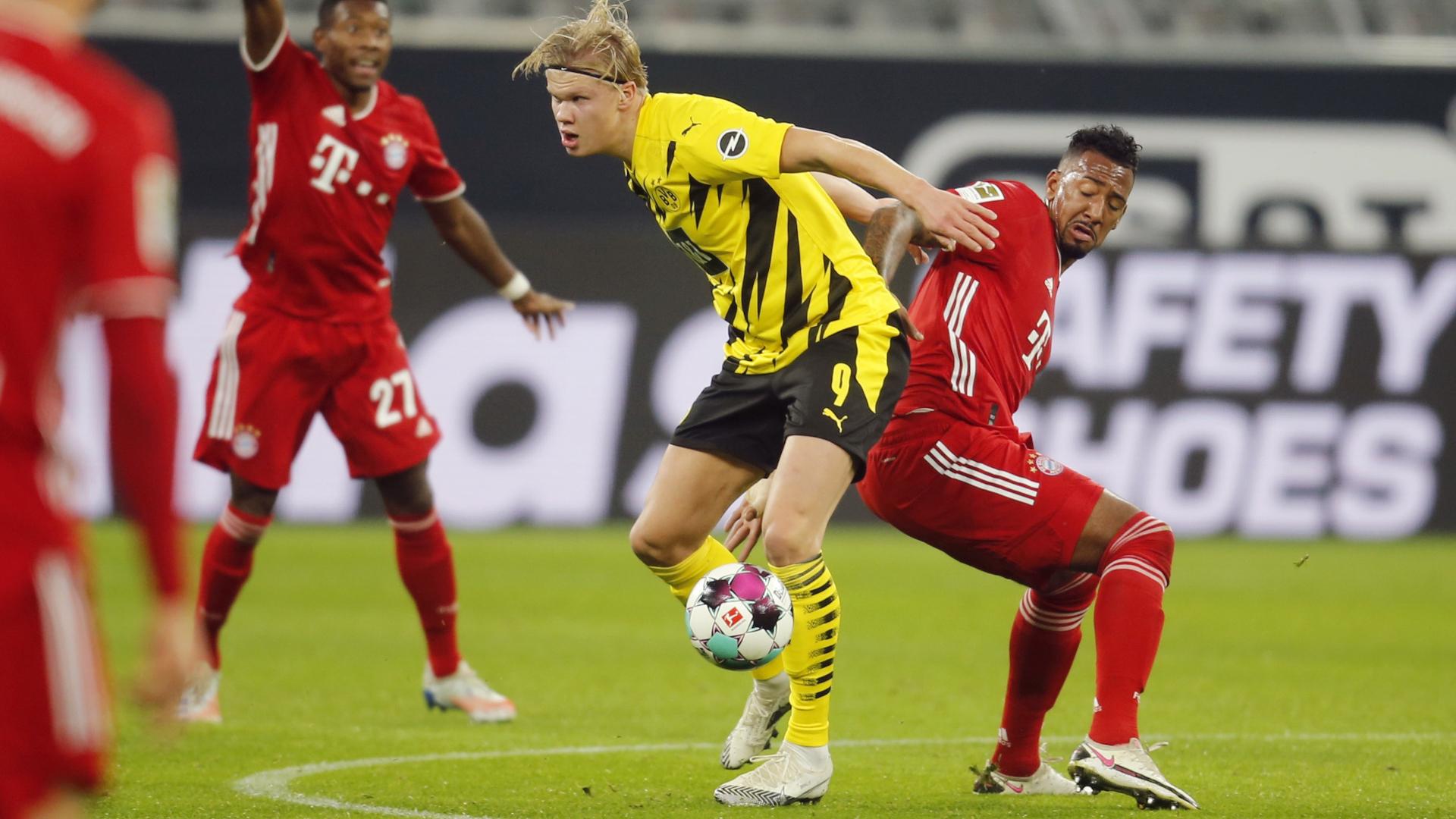 ONLY GER BVB vs. FC Bayern München Erling Haaland Jerome Boateng 07112020