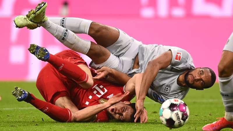 FC Bayern München Bayer 04 Leverkusen Bundesliga Jonathan Tah Leon Goretzka