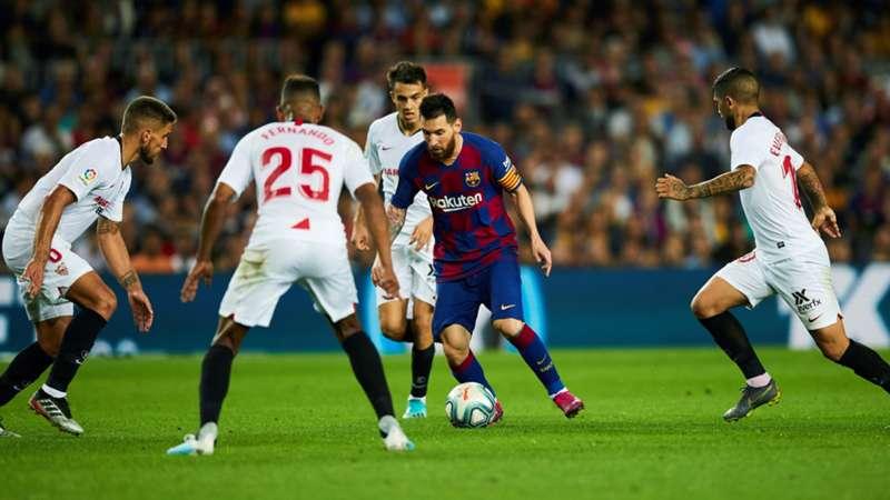 La Liga FC Sevilla FC Barcelona Leo Messi