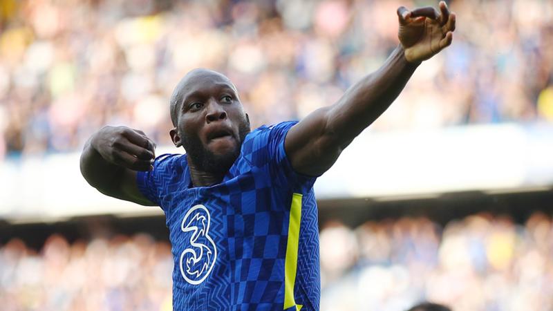 Romelu Lukaku, Chelsea vs Aston Villa, 11 september 2021, Premier League