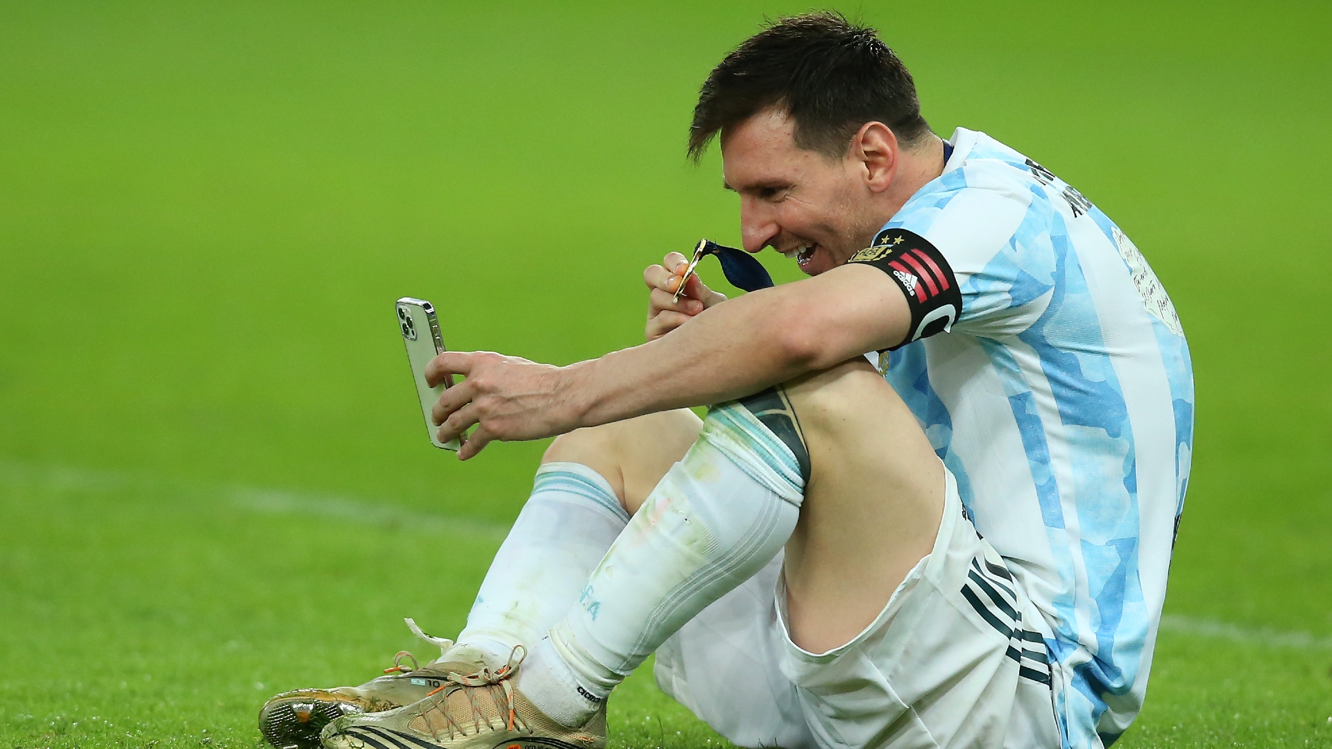 Leo Messi Argentina Copa America 2021 07/11/2021