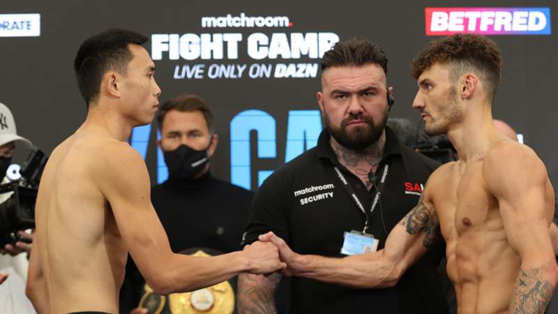 xu-can-leigh-wood-weigh-in-matchroom-ftr