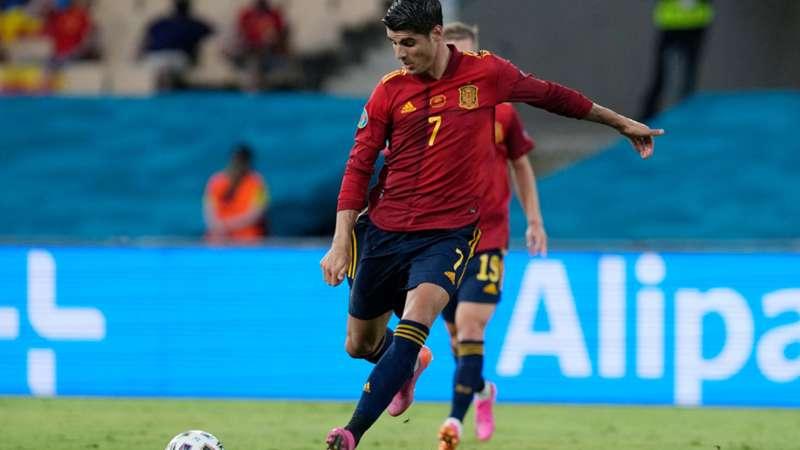 ONLY GER EURO 2020 Spanien vs. Schweden Alvaro Morata 14062021