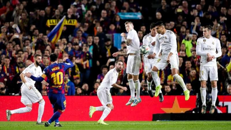 Lionel Messi Real Madrid FC Barcelona Clasico LaLiga