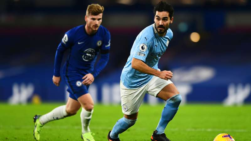 Timo Werner FC Chelsea Ilkay Gündogan Manchester City 03012021