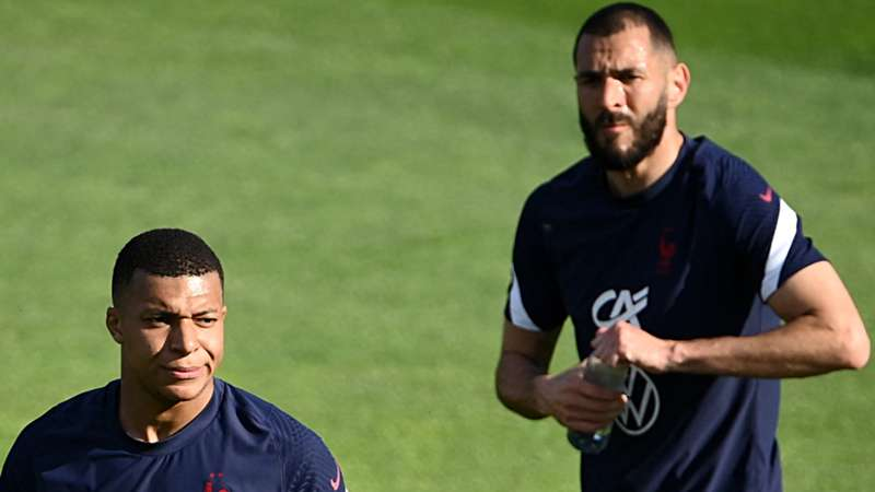 ONLY GERMANY Mbappe Benzema Frankreich 30052021
