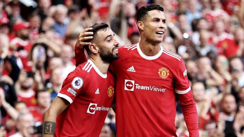 20210911_Bruno Fernandes&Cristiano Ronaldo_Manchester United