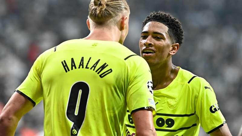 Borussia Dortmund BVB Haaland Bellingham 2021 Champions League