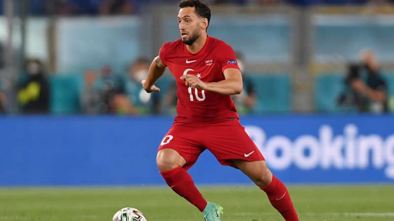 ONLY GER EURO 2020 Hakan Calhanoglu Türkei vs. Italien 11062021