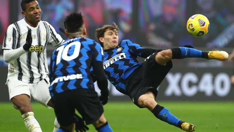 ONLY GER Coppa Italia Inter Mailand vs. Juventus Turin Nicolo Barella 02022021