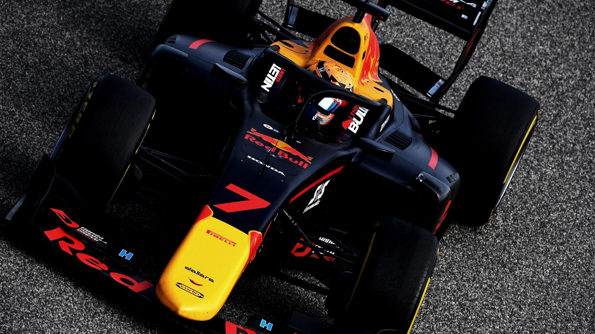 2020-11-29 F2 Formula 2 Tsunoda Yuki
