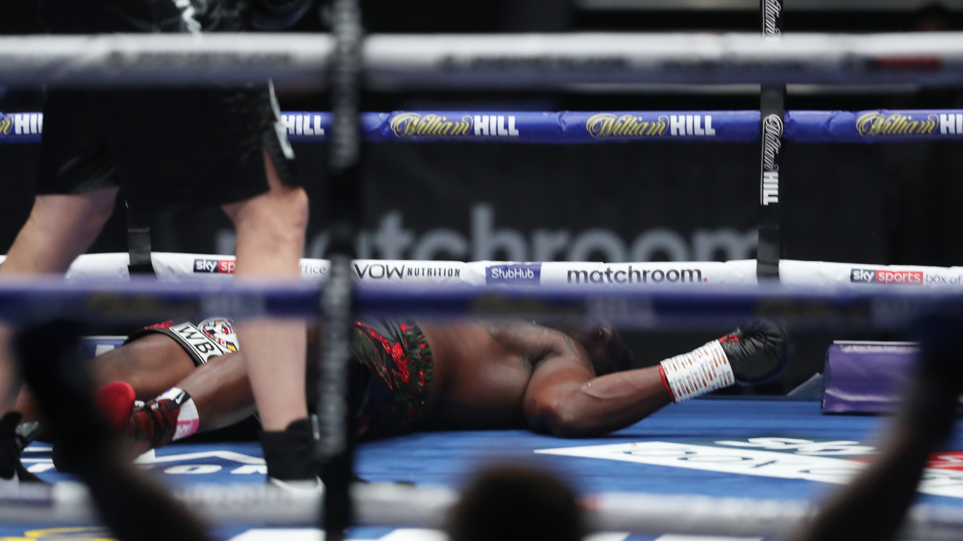 Dillian Whyte Brutally Knocked Out By Povetkin