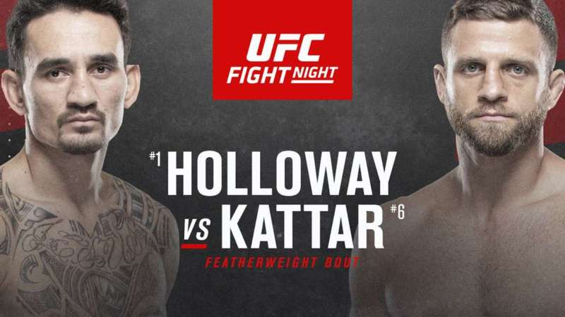 Holloway vs. Kattar 2021