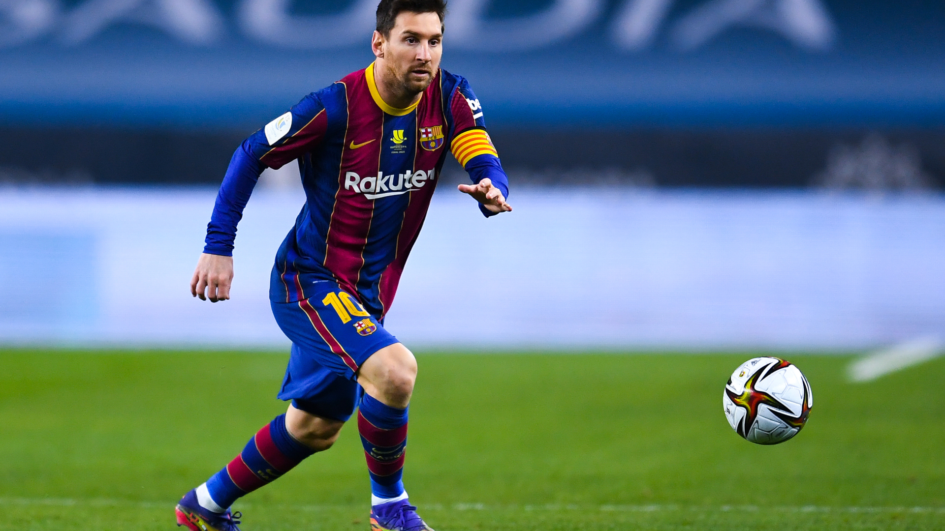 ONLY GER Lionel Messi FC Barcelona vs. Athletic Club 17012021