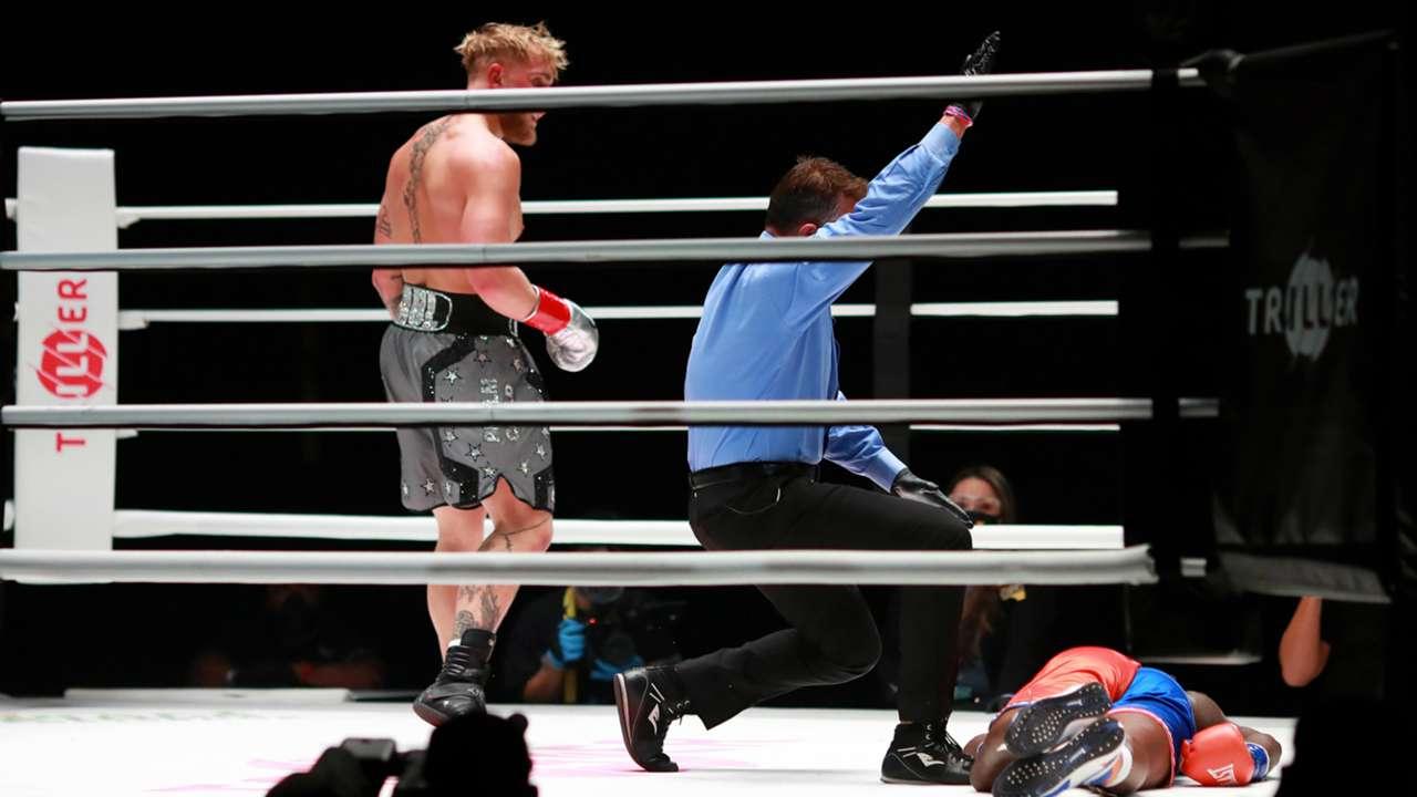 Paul Vs Robinson Results Jake Paul Violently Knocks Out Nate Robinson Dazn News Brazil