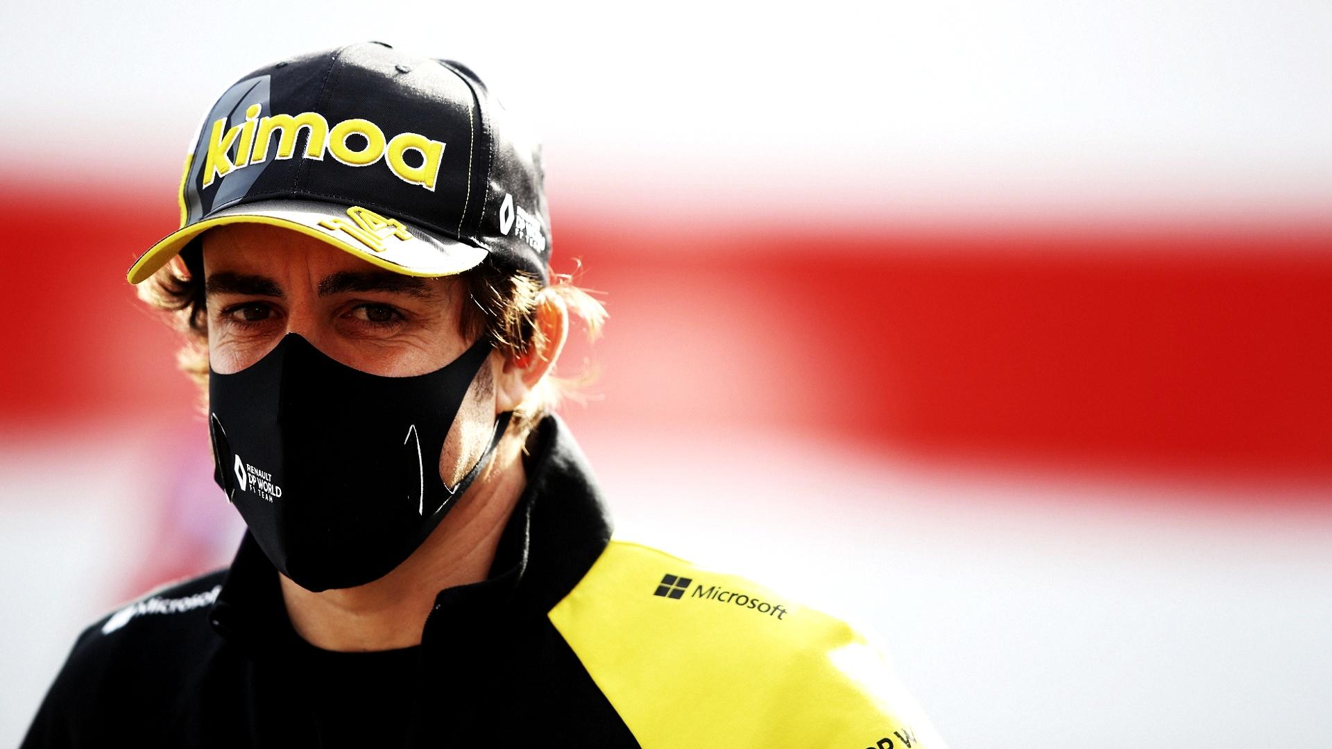 2021-01-09 Formula 1 F1 Fernando Alonso
