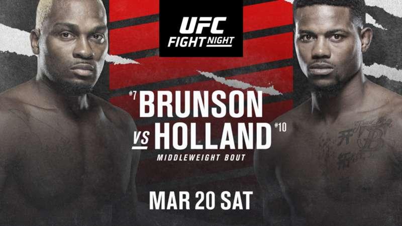 brunson-holland-fight-night-ufc-getty