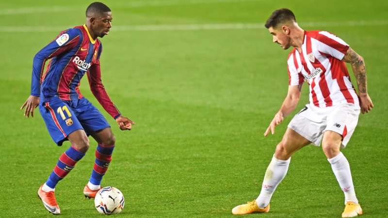 FC Barcelona Dembele Athletic Bilbao Berchiche heute live