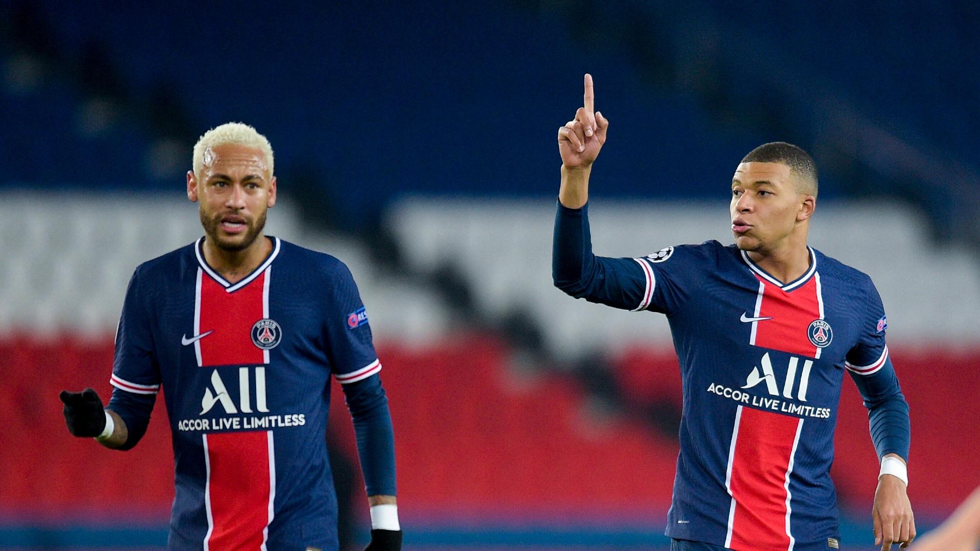 ONLY GERMANY Neymar Mbappe Paris Fingerzeig 24112020