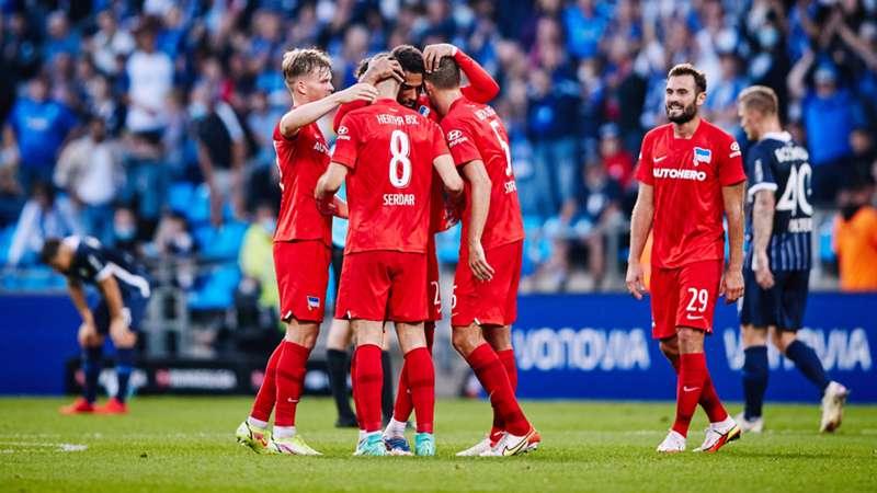 ONLY GER Bundesliga Hertha BSC Berlin Suat Serdar Jubel VfL Bochum 12092021