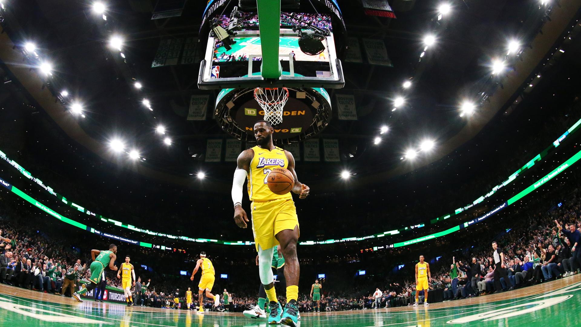 LeBron James LA Lakers NBA
