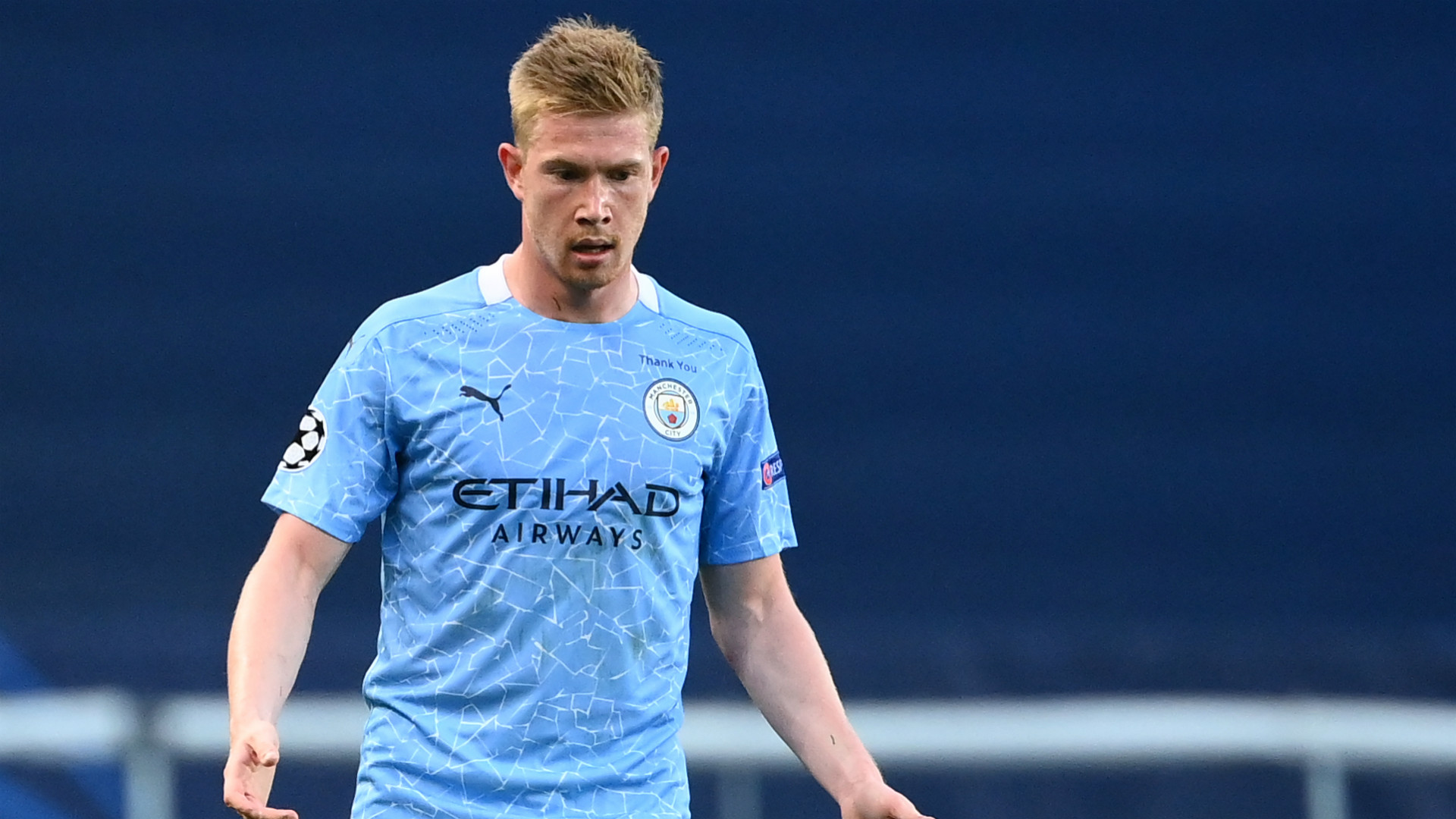 Man City facing 'up to four weeks' without influential De Bruyne
