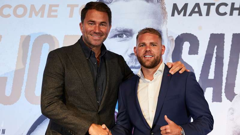 Eddie Hearn-Billy Joe Saunders