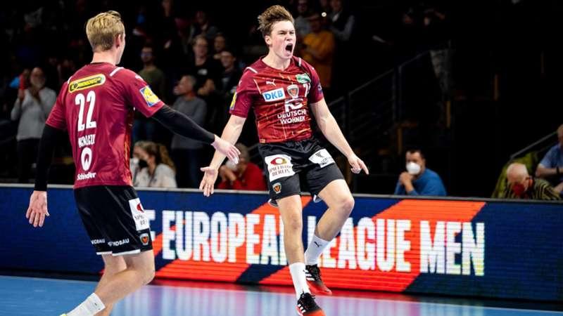 Füchse Berlin Michalczik Chrintz Handball European League
