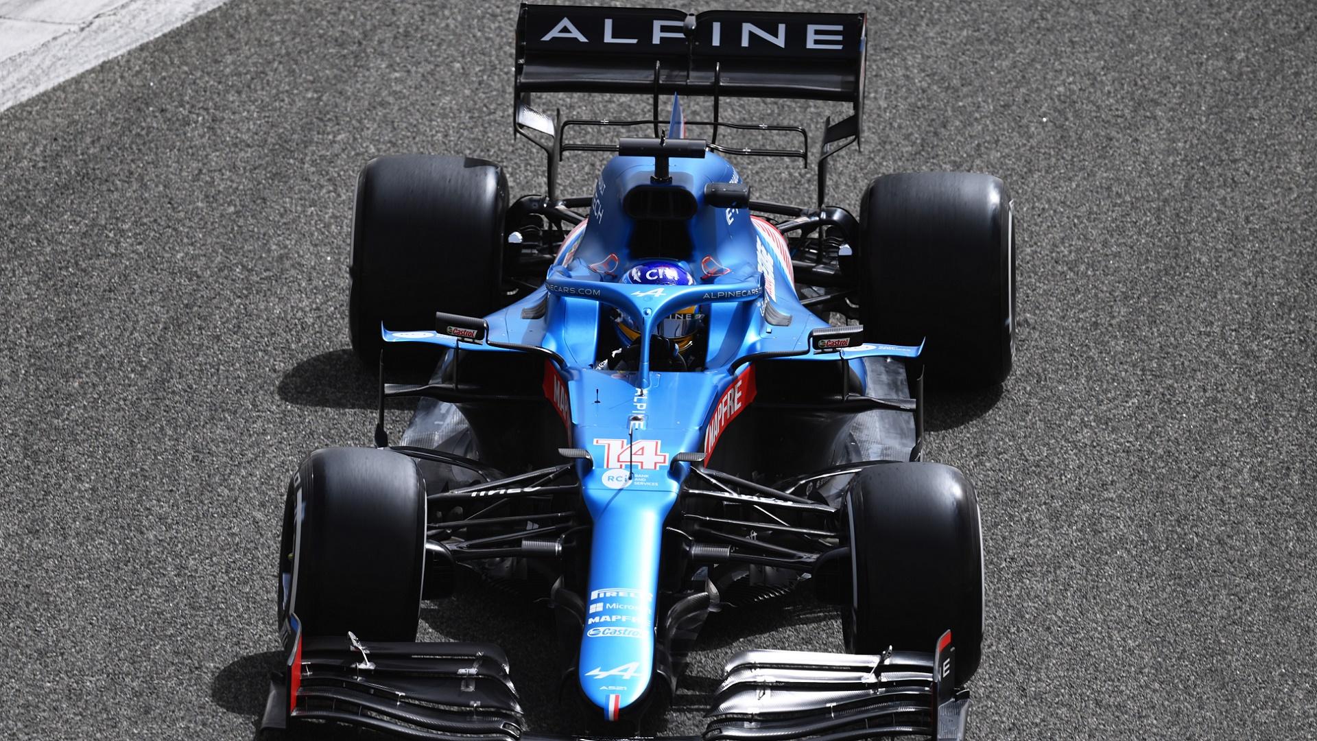 2021-03-13 Alonso Alpine F1 Formula 1
