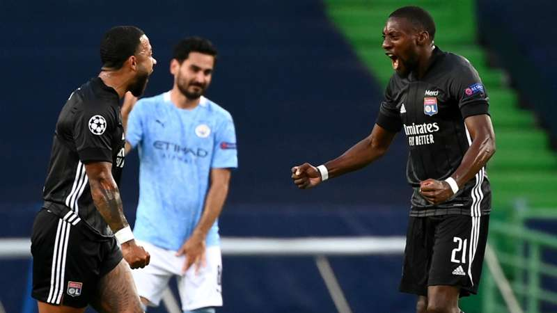 manchester city vs lyon results guardiola s men ousted in champions league quarters dazn news canada manchester city vs lyon results