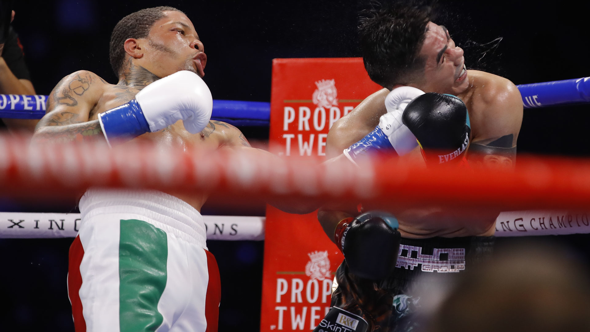Gervonta Davis explosively knocks out Leo Santa Cruz with huge uppercut
