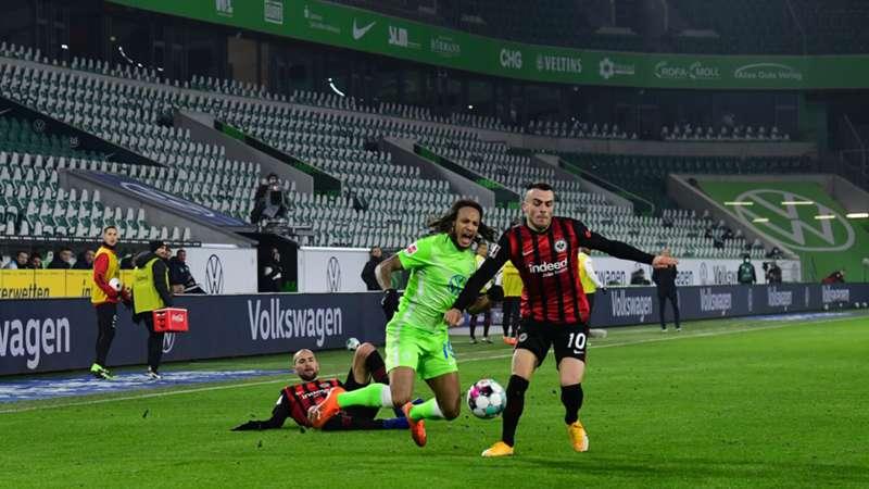 ONLY GER VfL Wolfsburg Eintracht Frankfurt Bundesliga Kevin Mbabu Filip Kostic 11122020