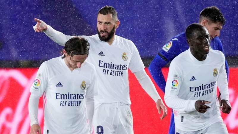 Real Madrid Benzema Modric FC Getafe LaLiga Livestream