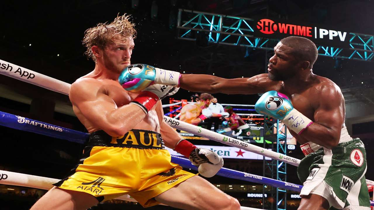 Floyd Mayweather Jr. and Logan Paul go the distance in lackluster affair