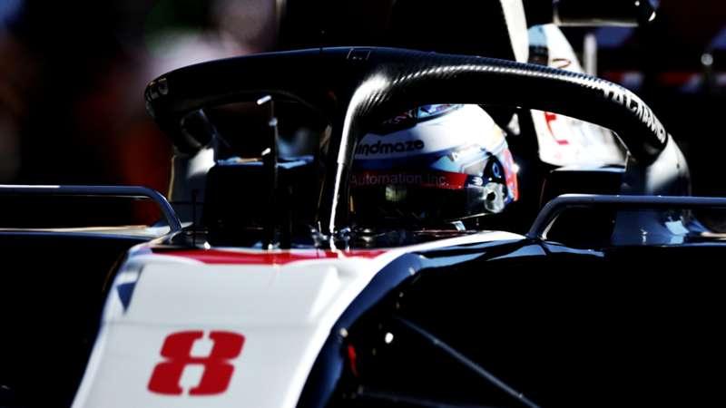 2020-12-03 Grosjean Haas Halo Formula 1 F1