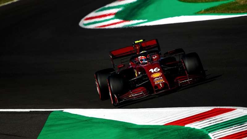 2020-09-12 F1 Formula 1 Leclerc Ferrari