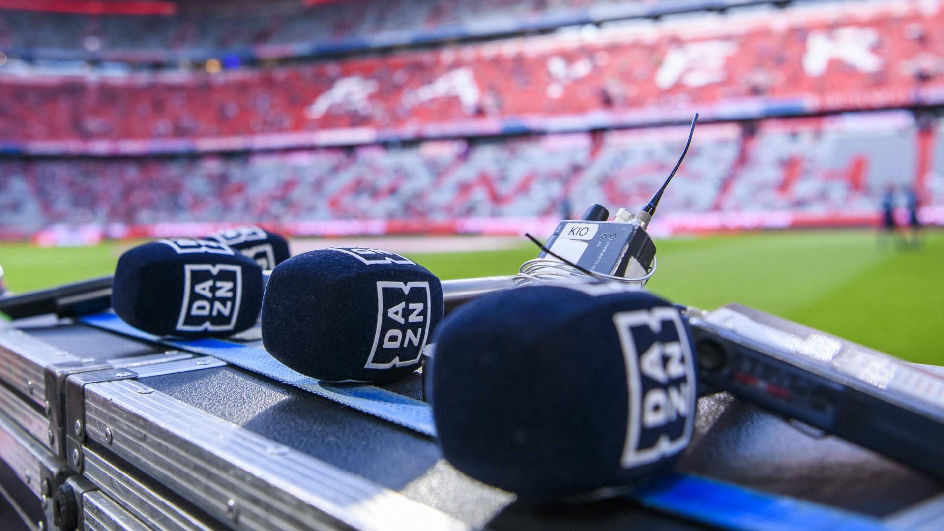Mikrofone Allianz Arena Technik