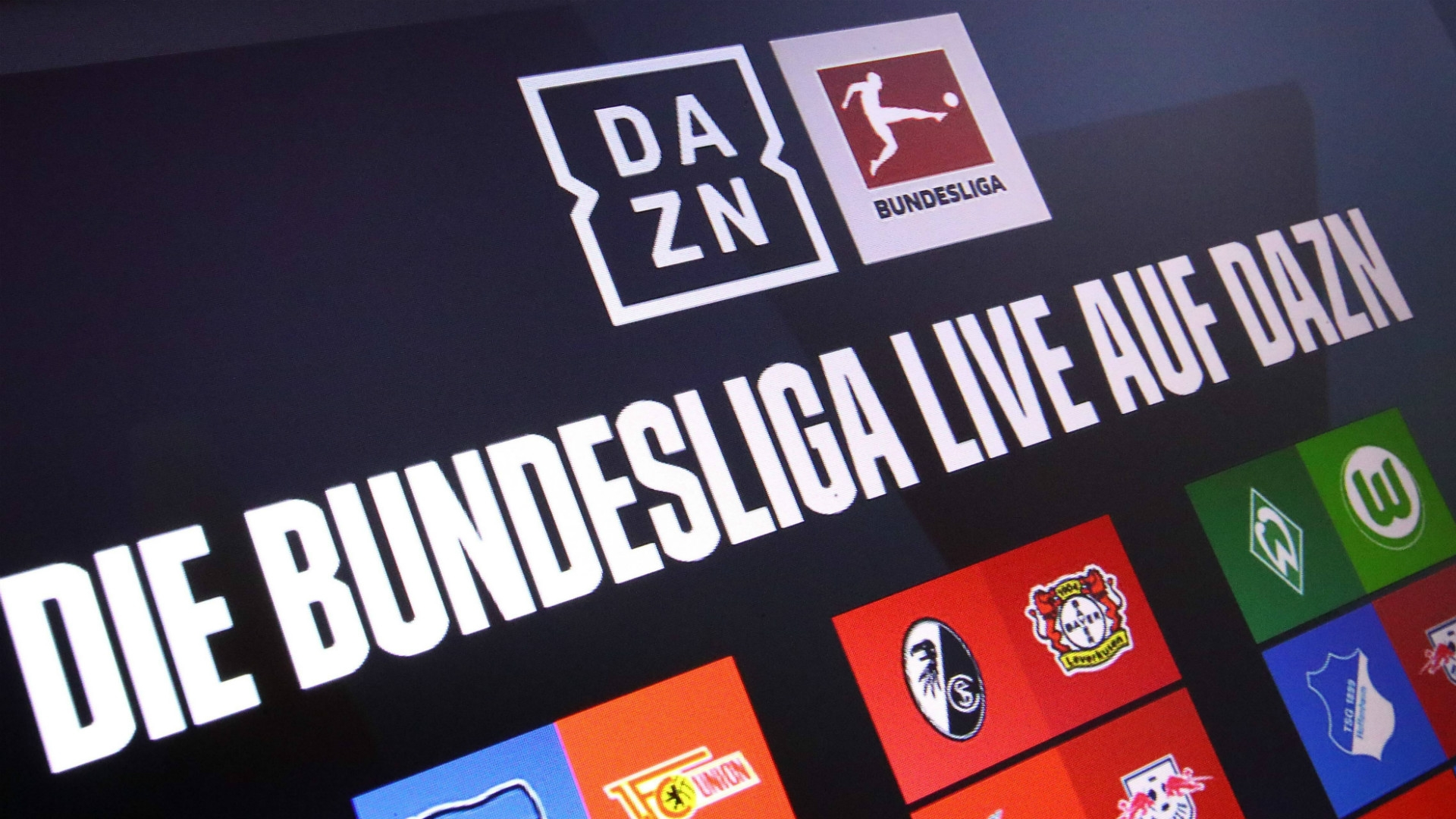ONLY GERMANY DAZN Programm Bundesliga
