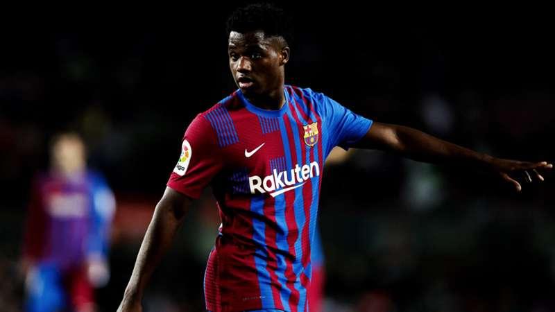2021-10-21 Ansu Fati Barcelona