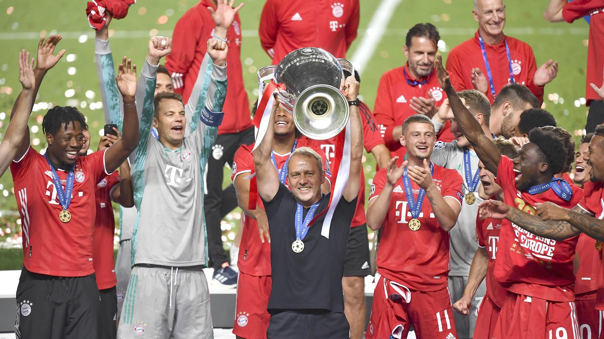 M U00fcnchen Jubelt Bayern Schnappt Sich Das Triple Gegen PSG