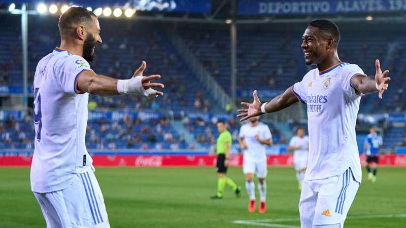 Real Madrid Alaba Benzema Jubel LIVE-STREAM Fußball