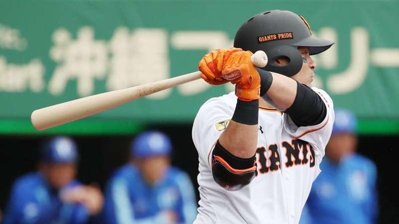 2020-02-16 Gerardo Parra Yomiuri Giants.jpg