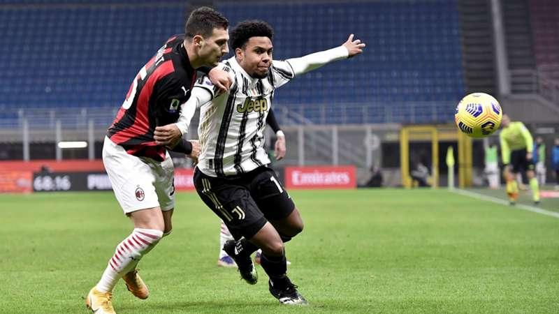 Juventus Turin McKennie AC Mailand Dalot Serie A heute live