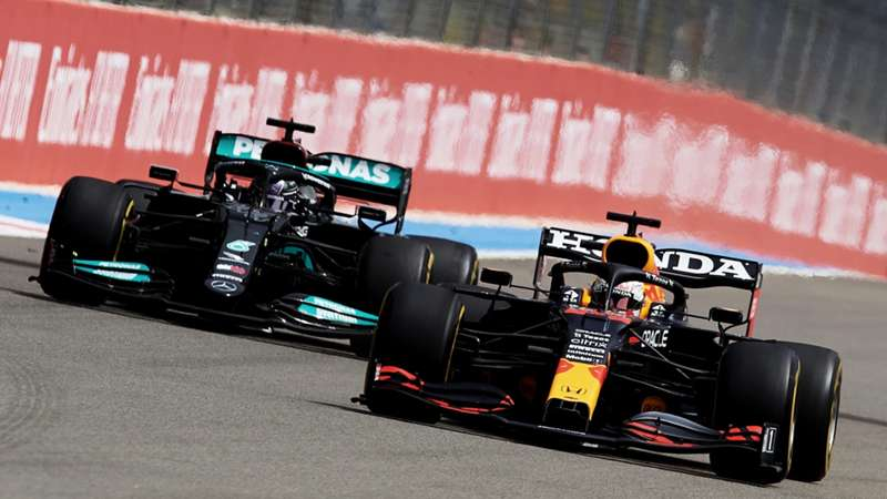 20210627_F1_France_Max Verstappen&Lewis Hamilton