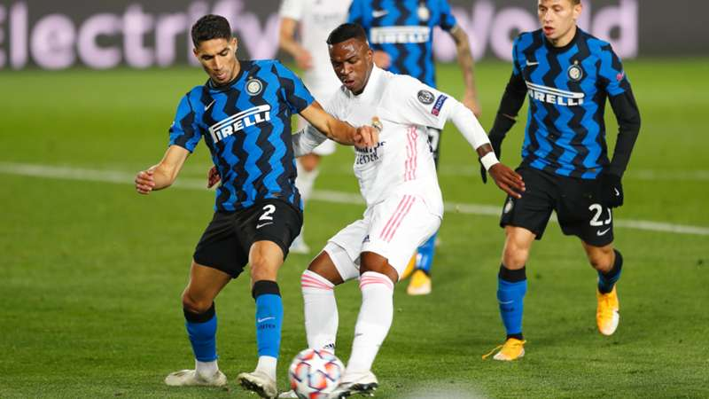 ONLY GERMANY Real Madrid Inter Mailand Champions League Vinicius Junir Achraf Hakimi 03112020